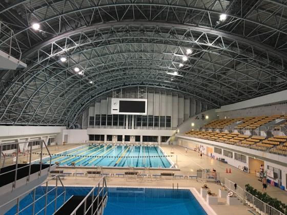 長野 公園 プール 運動 南
