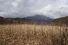 飯綱山を望む
