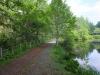 みどりが池脇の遊歩道